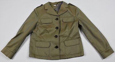 Miu Miu By Prada Kids Girls Jacket Coat Size 40 New (Miu Miu Kids)