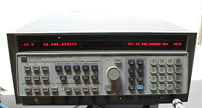 Hp Agilent 8340b Synthesized Sweep Signal Generator 10mhz To 26.5ghz