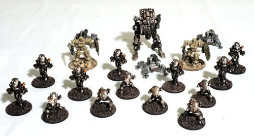 15mm Science Fiction Miniatures PRO PAINTED Mech Robot Sentry Walkers 19 Minis