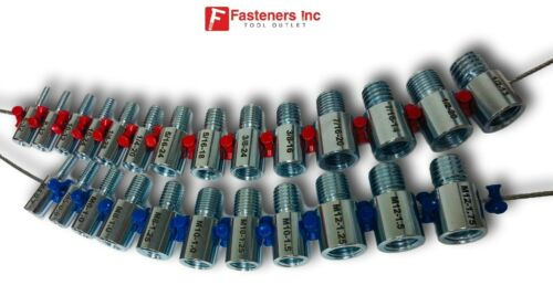 Fastener Screw Bolt Nut Thread Measure Gauge Size Checker Standard & Metric Wire