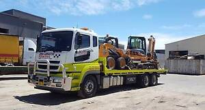 Tilt Tray Service - Float - Excavator, Bobcat, Forklift Equipment Sydney City Inner Sydney Preview