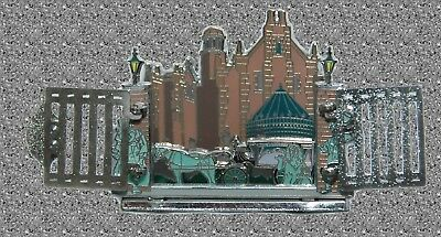 The Haunted Mansion (Diorama)  Pin of the Month - WDW - DISNEY - LE (Diorama Pin)
