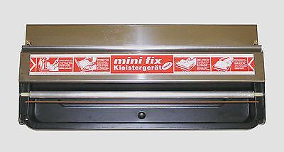 Tapofix Mini-Fix Kleister-/Tapezier-Maschine Tisch-Gerät Edelstahl + OVP - Neuw.