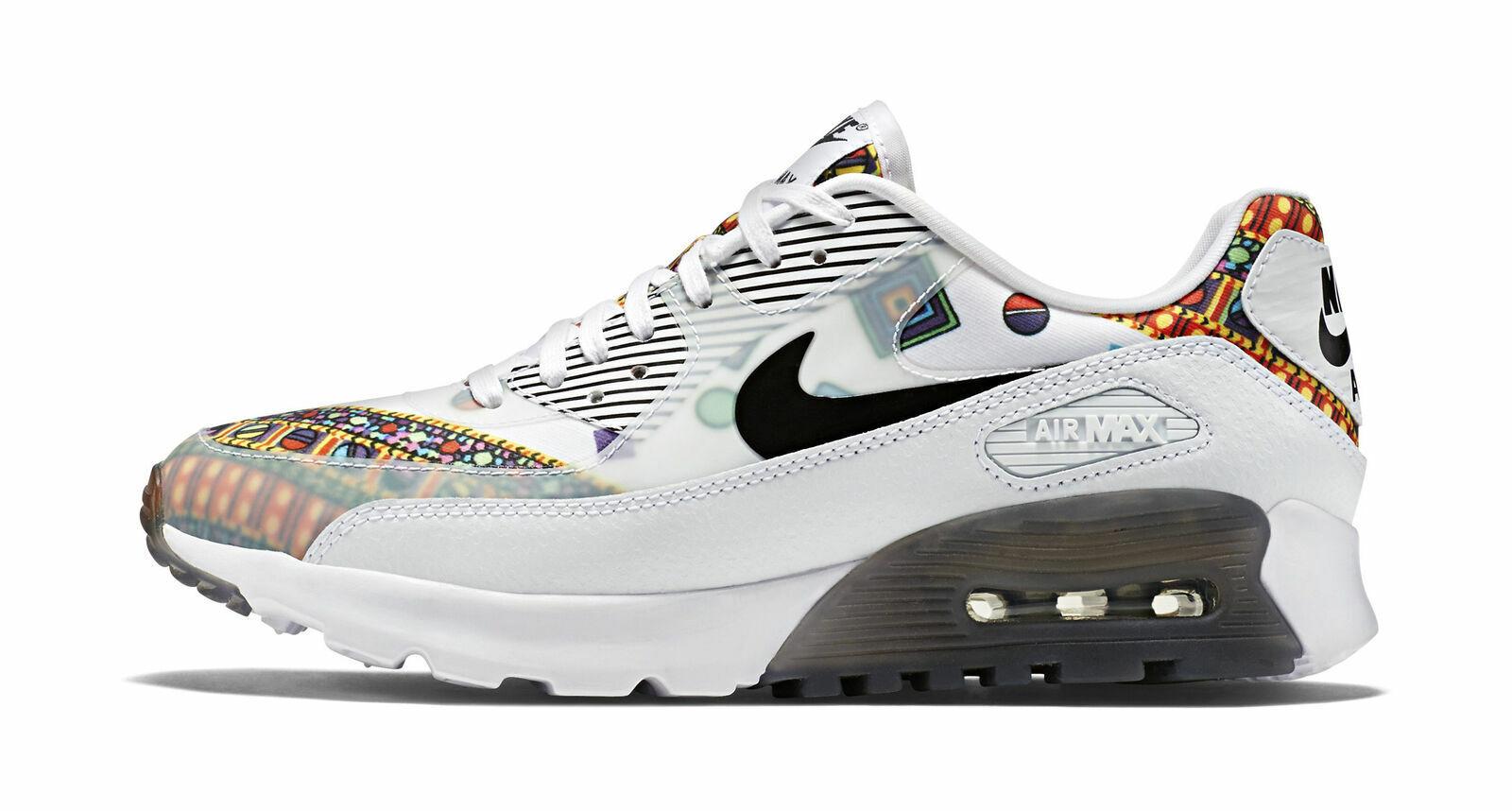 Nike Air Max 90 Ultra Liberty QS Women's Running Shoes, Size 6 WhiteBlack