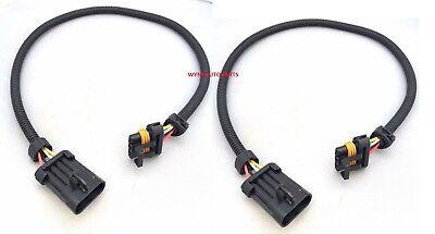 """2x 24"""" Front Oxygen O2 Sensor Extension Cables Fit 97-03 Corvette C5 LS1 Z06 LS6"""