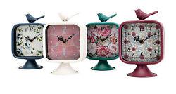 Imax Set of 4 Bird Desk Clock in Multi Color A0460282