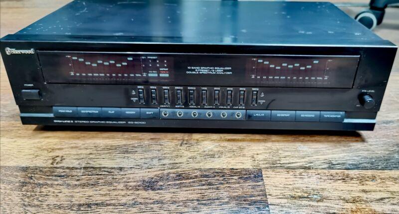 Sherwood Equalizer EQ5010C Digital Graphic  Double Spectrum Analyzer