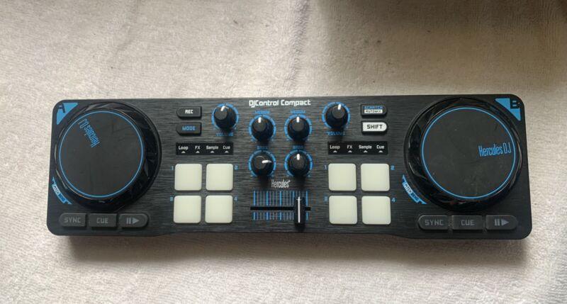 djcontrol compact DJ Controller Very Good Condition