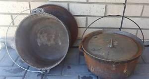 Cast iron pots Mannum Mid Murray Preview