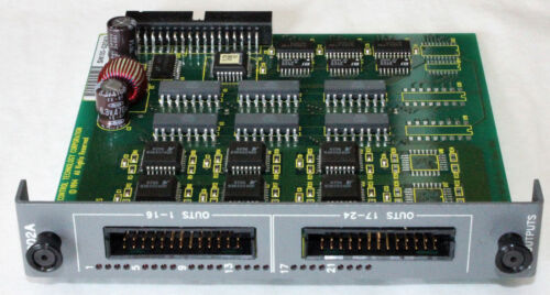 CONTROL TECHNOLOGY 2202A 24 CHANNEL OUTPUT MODULE BOARD