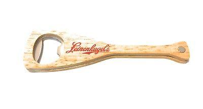 Leinenkugel's Canoe Wood Paddle Magnetic Bottle Opener - New & Free Shipping