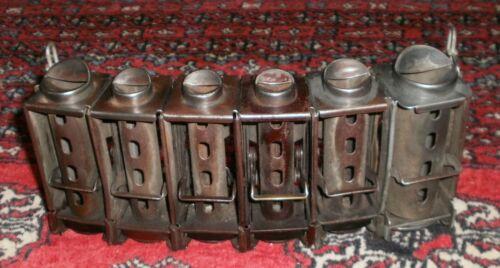 Vintage Johnson Fare Box & Co. 6 compartment coin changer. Pat.1465409