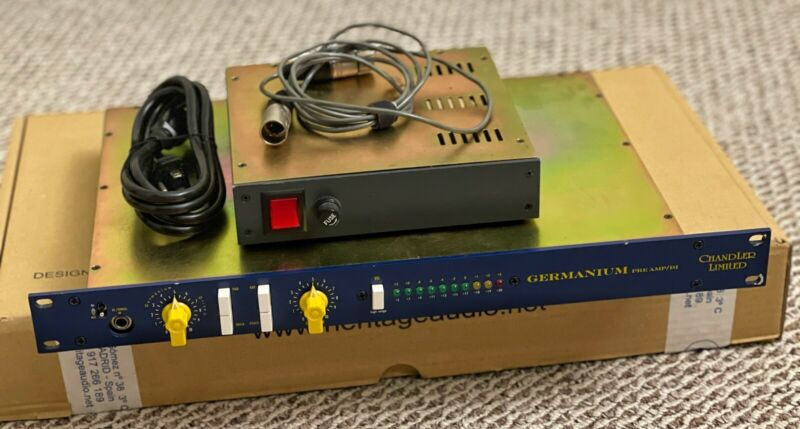 Chandler Limited Germanium Preamp Rack With PSU Power Supply