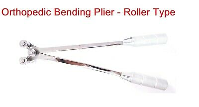 Orthopedic Plate Bending Plier Roller Type Surgical Veterinary Instruments