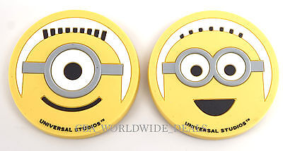 NEW Universal Studios Despicable Me Minion Mayhem - Stewart & Dave Magnets