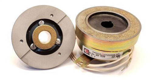"Inertia Dynamics High Torque SL26 Electromagnetic Clutch 12V DC 80 lb-in tq 1/2"""