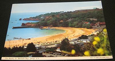 Channel Islands The Beach St Brelades Bay Jersey - posted 1978