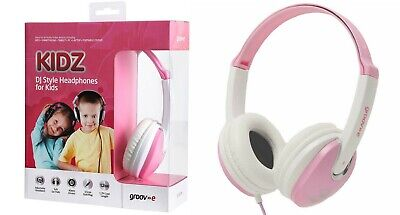 Groove Kidz DJ Style Headphones Stereo Music Earphones Headphone For Kids
