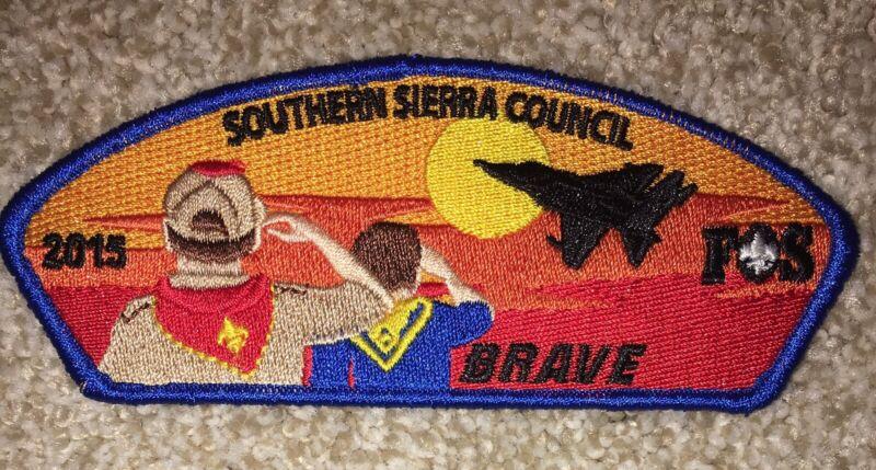 Boy Scout Southern Sierra Council FOS Brave Csp / SAP Blue Bakersfield CA Mint