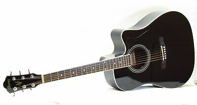 Ibanez V70CE BK 6-String Right-Handed Acoustic Electric Guitar - Black