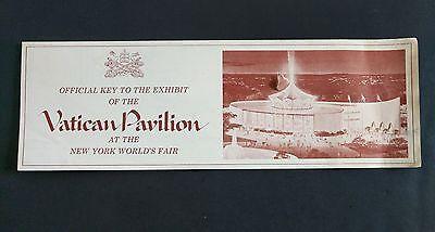 Vintage 1964 New York Worlds Fair VATICAN PAVILION Souvenir Brochure