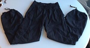 Ladies Lululemon Studio Dance Pants Size 4 Regular Unlined
