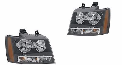 TIFFIN ALLEGRO 2009 2010 2011 2012 PAIR HEADLIGHT HEAD LIGHT FRONT LAMP - SET