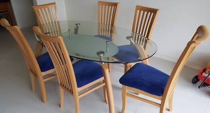 Glass Top Dining Set Part 79