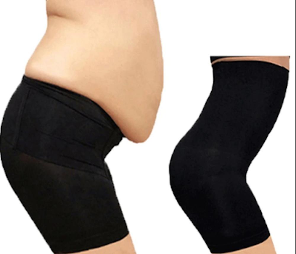 Damen Bodyshaper Hohe Taille Miederhose Bauchweg Slim Pants Shapewear Höschen