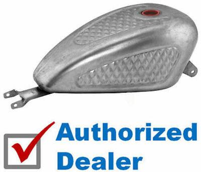 3.3 Gallon EFI Gas Tank Diamond Pleated Indented Harley Sportster XL 2007-2020