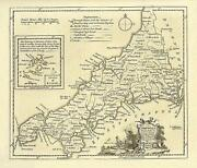 Antique Maps Cornwall