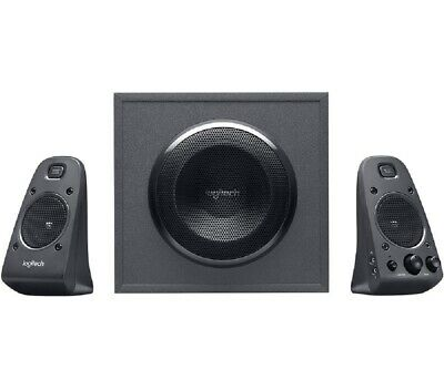 Logitech Z625 Negro Altavoces Para PC 200W RMS Thx-Sound Conector Auriculares