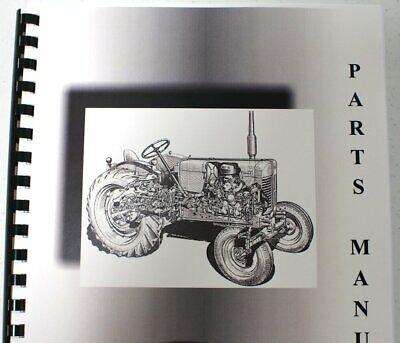 International Farmall Cub 1947 To Last Built Parts Manual