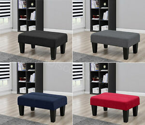 Ottoman Foot Rest Stool Entryway Bench Seat Chair Accent Table Living Room Sm
