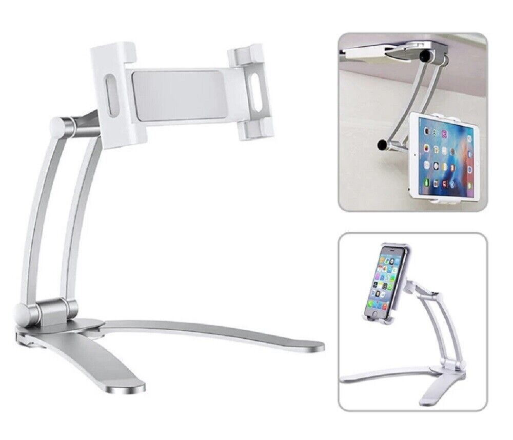Desktop & Wall Pull-Up Lazy Bracket iPad Phone Mount Wall Tablet Holder Stand US Cell Phone Accessories