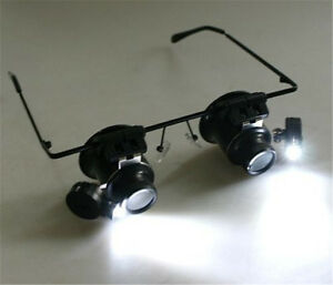 jewelers lighted magnifying glass ebay. Black Bedroom Furniture Sets. Home Design Ideas