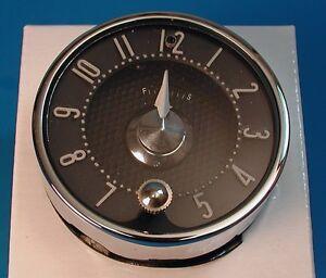 1955 1956 Chevy Quartz Clock, BelAir, 210, 150, Wagon Models, 55 56 NEW