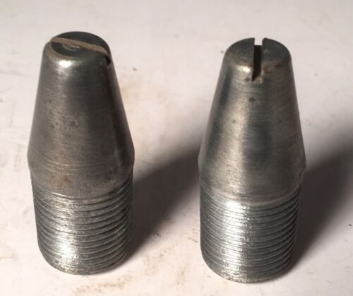 "2 New-Old-Stock 7/8"" N.F. Guide Pins Wheel Rim Bolt PG3"