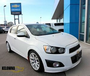 2012 Chevrolet Sonic LTZ, Leather Interior, Sunroof, Alloys