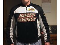 Harley Davidson Mesh Motorcycle Jacket, size large