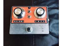 Jesse Davey Kingtone NKT 275 Germanium Fuzz Pedal (Rare)