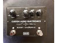 MXR Custom Audio Electronics Boost/Overdrive Guitar effects pedal