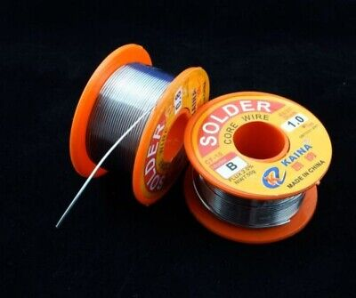 Lead Free Solder Wire Sn99.3 Cu0.7 Rosin Core For Electronic 100g3.5oz 1mm
