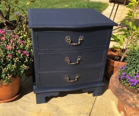 Solid Wooden Three Drawe Chest