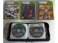 17 Xbox 360 games (mostly loose discs)
