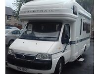Fiat Ducato 4 Berth Autotrail Cheyenne 634SE 2007 MOT May 2019 Tax Oct 18 In Very Good Condition
