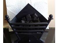Gallery Art Deco Coal Effect Gas Basket Fire ( Black )
