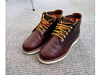 Timberland Brown Wedge Sole Chukka Boots Size 8 Great Condition