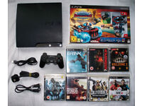 PS3 Playstation 3 slim 320gb with controller and games!!!!!
