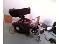 Thomson Digital Studio camera chain with Fujinon Lens,CCU,autocue etc